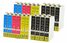 20 printer cartridges Ink Cartridges compatible with Epson T0711-14