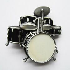 Men Buckle Original Drum Kit Music Belt Buckle Gurtelschnalle Boucle de ceinture