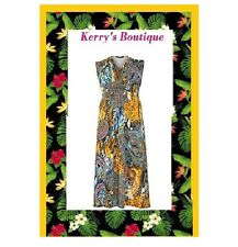 New KOKO Paisley Holiday Maxi Dress PLUS SIZE 16 yours LOOK evans Simply be very