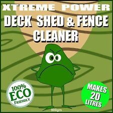 DECKING CLEANER, SHED AND FENCE CLEANER - CLEAN & RESTORE WOOD GARDEN FURNITURE