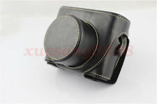 New Brown Leather Camera Hard Case Bag Cover For Fujifilm Fuji X10 X20 Finepix