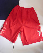 NEW ANIMAL ELASTICATED WAIST BOARD SURF SHORTS COL: RED SIZE SMALL & MEDIUM £30