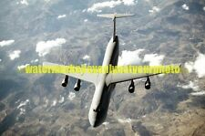 USAF C-5 Galaxy Outsized Cargo Transport Aircraft Photo Military Color Vet Jet