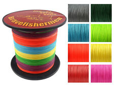 9 color 24 size 300/500/1000M Dyneema 100%PE Spectra Braid Fishing Line 6-300LB