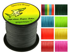 2017 New 100/300/500/1000M Dyneema 100%PE Spectra Braid Fishing Line 6LB-300LB
