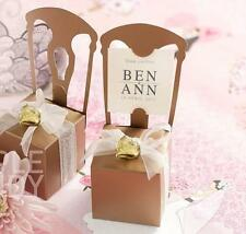 25/50 Candy Gift Box Table Name Place Card holder Wedding Party Decor Bomboniere
