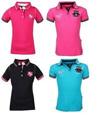 Horka Shirt Costa Childs Horse Riding Polo T-Shirt ALL SIZES & COLOURS