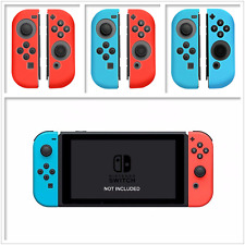 2pcs For Nintendo Switch Gampad Handle Console Silicone Cover Protector