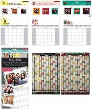 2017 2018 Insert Your Own Photos Mid year Wall Hanging Calendar - 3920