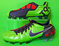 NIKE TOTAL 90 LASER III FG UK 7 US 8 FOOTBALL BOOTS SOCCER CLEATS GREEN