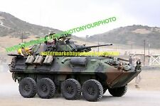 USMC LAV-25A2 Light Armored Vehicle  LAV Color Photo Military Tank Army War