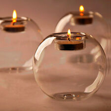 Classic Crystal Glass Candle Holder Wedding Bar Party Home Decor Candlestick New