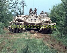 Panther Armored Mine Clearing Vehicle Color Photo Military Army USMC Tank Tanks
