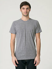 American Apparel Unisex Tri-blend Short Sleeve Track T-Shirt - Athletic Grey
