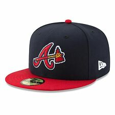 Atlanta Braves 2017 59Fifty Authentic Fitted Performance Alternate MLB Baseball