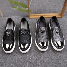 Fashion Men's shoes sequins personality shoes leather shoes casual dress shoes