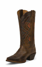 Tony Lama Womens Saddle Rio Leather 13in Embroidered Western Boots