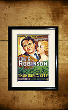 Thunder In The City1937  Movie advertising posters and framed pictures
