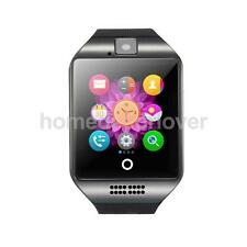 Q18 Smart Watch W/ Camera TF Card Bluetooth Smartwatch for Android IOS Phone