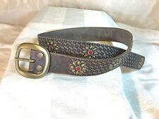 LUCKY BRAND Leather belt New with Tags $58.00 MSRP