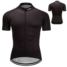 New Mens Road Bike Team Cycling Race Outfits Shirt Short Sleeve Jerseys Race Fit