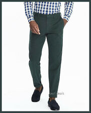 BANANA REPUBLIC MENS Emerson CHINO Straight Pants FOREST NEW FREE FAST SHIPPING