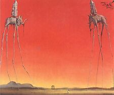 Salvador Dali The Elephants Canvas Wall Art Poster Prints