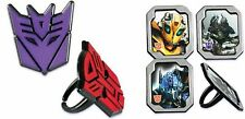 Transformers Cupcake Rings Party Favors Cake Toppers Decorations