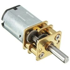 6/12V 100/200/300/30RPM Mini DC Metal Gear Motor + Gearwheel Shaft Diameter N20