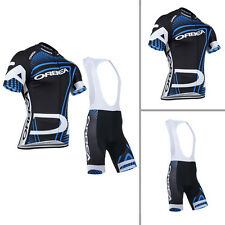 New Cycling Short Sleeve Bicycle Outdoor Sports Clothing Jerseys Bib Shorts Sets
