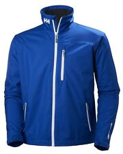 Helly Hansen Crew Midlayer Fleece Lined Waterproof Jacket 30253/563Olympian Blue