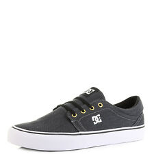 Mens DC Trase TX SE Black Grey Skate Shoes Trainers Sz Size