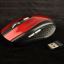 2.4GHz Cordless Wireless Optical Mouse Mice for Laptop PC Computer +USB Receiver