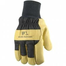Insulated Grain Pigskin Lined Leather Palm Gloves for Men, XXL. Shipping Include