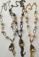 Vintage Style Silver/Gold Long Tassel Pendant Necklace Sweater Chain