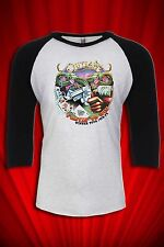 Outlaws Vintage Tour Jersey 1978 T-SHIRT FREE SHIP USA Ghost Riders in the Sky