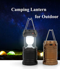 Camping Light Outdoor Rechargeable LED Flashlight Usb Solar Camping Lantern