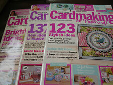 Cardmaking & Papercraft Magazines Issues 140, 141 & 142