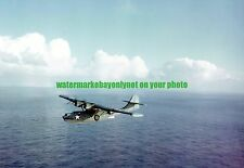 USN Consolidated PBY -3 CATALINA Patrol Bomber Color Photo Military WW2
