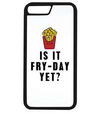 Is It Fry Day yet Funny French Fries Food Phone Case iPhone Cover