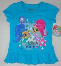 SHIMMER AND SHINE Girls 4 5 6 Short Sleeve Tee SHIRT Top Nickelodeon