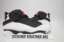 (322992-012) MEN'S AIR JORDAN 6 RINGS BLACK/WHITE/GYM RED