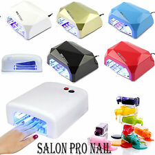 36W UV Lamp, 18/36W LED + CCFL Nail Art Dryer Curing UV Lamp Manicure with Timer