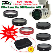 PGY ND4 ND8 Filter/CPL Polarizer/MC UV Filter CPL Lens Cover For DJI Phantom 4/3