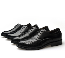 New Mens Dress Shoes Formal Lace up Oxfords Classic Leather Casual Summer Shoes