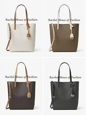 """NWT MICHAEL KORS Hayley Large Logo North-South Tote """"Choose your color"""" MSRP$198"""