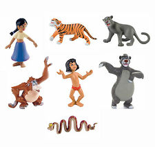 Bullyland Disney Jungle Book Movie Figures Cake Toppers Baloo Mowgli King Louie