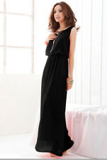 Summer Dress New Arrival Red Green Style Chiffon Woman Long Dresses