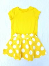 New, Girls Yellow Skirt & Top Outfit. Ex Mothercare Summer age2 3 4 5 6 7 8 9 10