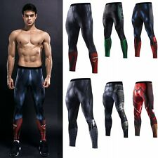 Superhero Slim Fit Sport Gym Pants Jogging Running Trousers Tracksuit Sweatpants